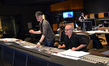 Composer Andrew Lockington and scoring mixer Brad Haehnel