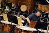 Percussionists Joseph Pereira and Wade Culbreath