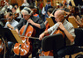 Cellists Andrew Shulman and Kim Scholes