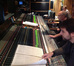 Composer Olivier Deriviere at the Air Studios desk with recording and mixing engineer John Kurlander