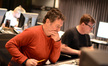 Composer Harald Kloser and scoring mixer Alan Meyerson