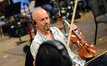 Violinist Marc Sazer