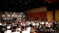 The Hollywood Studio Symphony performs under the baton of composer Brian Tyler