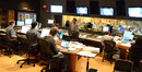 Composer Henry Jackman gives instructions in the booth