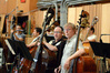 The basses cast a wary eye