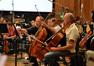 Cellists Steve Erdody and Kim Scholes
