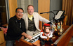Percussionist Alex Acuña and organist Mark LeVang