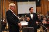 Conductor/orchestrator Tim Simonec and composer Michael Giacchino