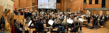 Conductor/orchestrator Tim Simonec and the Hollywood Studio Symphony perform on <i>Dawn of the Planet of the Apes</i>