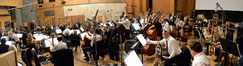 Conductor/orchestrator Tim Simonec and the Hollywood Studio Symphony