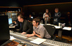 Inside the booth at East West Studios