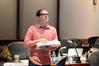 Score producer Alex Bornstein prepares the next cue