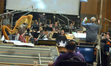 The orchestra records a cue from <i>The Maze Runner</i>