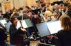 The violins discuss a cue