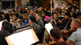 The orchestra records a cue from <i>A Million Ways To Die In The West</i>