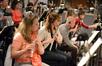 Flutists Jenni Olson & Heather Clark and oboists Davis Weiss, Leslie Reed, & Lara Wickes