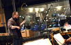 Composer and conductor Joel McNeely talks to the violins