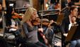 Violinist Natalie Leggett