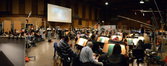 The orchestra on <i>Muppets Most Wanted</i>