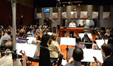 Composer Christopher lennertz conducts the orchestra on <i>Ride Along</i>