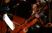 Cellist George Kim Scholes