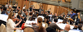 Conductor Jose Serebrier and the orchestra record on <i>Rio 2</i>