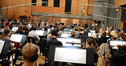 Conductor Jeffrey Schindler and the Hollywood Studio Symphony
