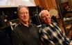 Percussionists Alan Estes and Dan Greco