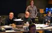 Composer (and film editor) John Ottman, orchestrators Rick Giovinazzo and Jason Livesay, and ProTools recordist Larry Mah