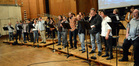 The choir performs on <i>X-Men: Days of Future Past</i>