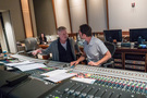 Composer Blake Neely talks with scoring mixer Greg Hayes