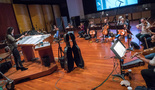Composer Sherri Chung conducts the strings