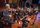 The violin section on <em>Blindspot</em>