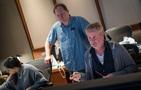 Scoring assistant Raashi Kulkarni, music editor Zed Starkovich, and composer Blake Neely