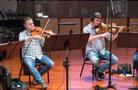 The violas perform on <em>Blindspot</em>