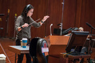 Composer/conductor Sherri Chung performs