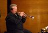 David Washburn on trumpet