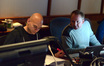 Music editors Joe Lisanti and Kyle Clausen