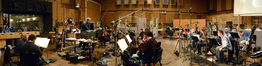 A 38-piece orchestra performs the score to <i>Galavant</i> under the baton of Michael Kosarin