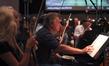 Concertmaster Bruce Dukov and violinist Natalie Leggett