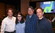 Composer Jeff Danna, producer Denise Ream, director Peter Sohn and composer Mychael Danna