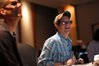 Composer Michael Giacchino enjoys listening to the score while watching playback
