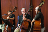 Peter Doubrovsky, Chuck Nenneker and Norman Ludwin on basses