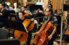 The cello section makes an edit to their parts