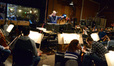 Orchestrator Pete Anthony conducts the Hollywood Studio Symphony