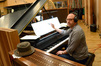 Pianist Randy Kerber makes changes to his part