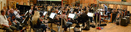 The orchestra performed under the baton of conductor and orchestrator Tim Davies