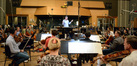 Conductor Tim Davies and the Hollywood Studio Symphony