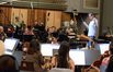 Tim Davies conducts the Hollywood Studio Symphony on <i>Scout's Guide to the Zombie Apocalypse</i>