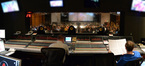 A peek over the shoulders of scoring mixer Shawn Murphy and orchestra Kevin Kaska at the <i>The SpongeBob Movie: Sponge Out of Water</i> sessions